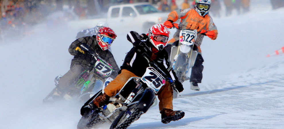 AMA ICE RACING PHOTO GALLERIES