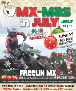 free x-mas july